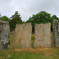 Stones at Greby Burial Field