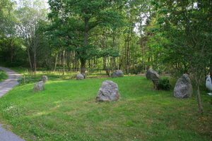 Ring of seven standing stones